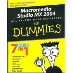 Macromedia studio mx 2004 for DUMMIES